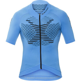 X-Bionic Twyce Fahrrad Trikot SS Full-Zip Herren french blue/black